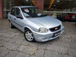 GM Classic Life 1.0 8v. Flexpower / prata / Ú. dono / Impecável! Petrópolis/RJ - 2010