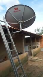 Técnico de antenas claro Sky oi