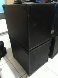 Sub 18 polegadas vendo a caixa vazia ou completa