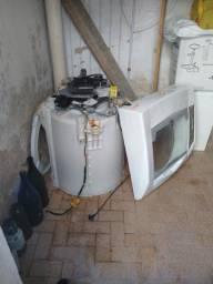 Sucata máquina de lavar