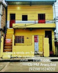 Casa a venda na cidade de Tefé/AM