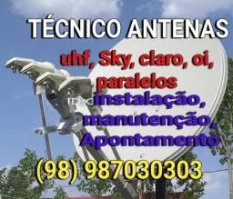 Servicos tecnicos antenas