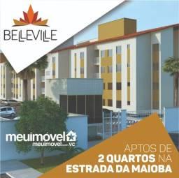°°44°° Belleville, apartamentos com 2 quartos na Estrada da Maioba