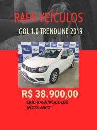 Gol 1.0 2019 R$ 38.900,00 - Rafa Veiculos Eric- llkp9