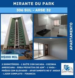 Apartamento - 2 Dormitórios, Sendo Uma Suíte, 62m², 1 Vaga, Lazer Completo - 306 SUL