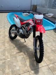 Troco crf 250f ano 2020  em importada . Kawasaki kx 250 , Gas Gas , Wr 250 .