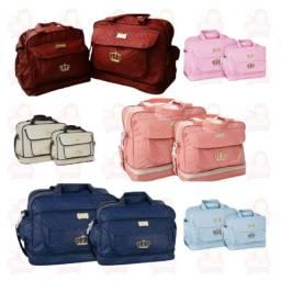 Título do anúncio: Kit 2 bolsas maternidade - Mave baby Djon