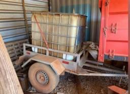 Carretinha tanque 1000 litros