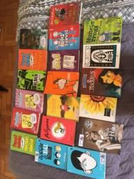 Livros usados (15 reais cada)