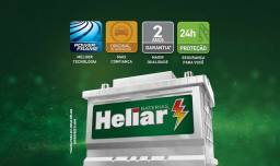 Bateria Heliar 60 Ah SuperFree. 24 meses de garantia.