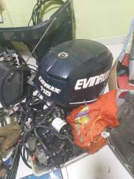 Sucata do motor etec 115 hp