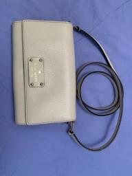 Bolsa pequena branca Kate spade com alça