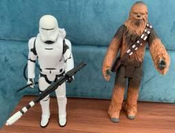 Título do anúncio: 2 bonecos Star Wars