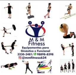 Equipamentos Para Ginástica, Musculação e Treino Funcional