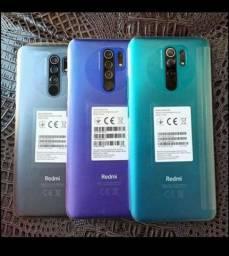 Xiaomi Redmi 9 64GB Lacrado//.12x de 109,83 sem juros