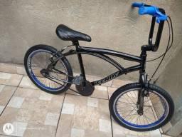 Bicicleta infantil caiçara aro 20 folha aero semi nova