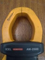 Alicate amperímetro watímetro multimetro digital
