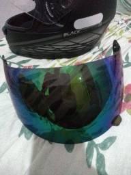 Viseira camaleão capacete ebf spark