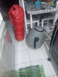 Dois sacos de pancada por 60 reais