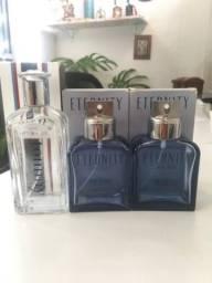 Frascos de perfume vazios
