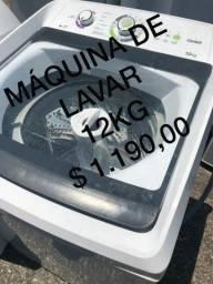 Máquina de lavar 12kg
