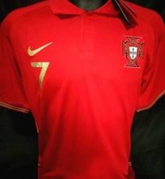 Camisa Portugal Cristiano Ronaldo