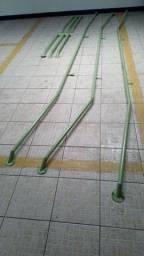 Corrimão de ferro de 1 polegada e meia