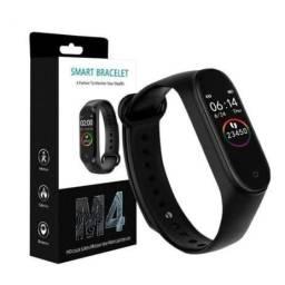 Relógio M4 smartband m4 + Brinde