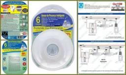 Título do anúncio: 03 Sensores De Presença, Seis Funções Bivolt 360 Qualitronix - Qa19m
