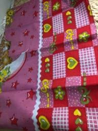 Lençol  infantil  ( pacote com 6 lençóis ) 60.00 reais