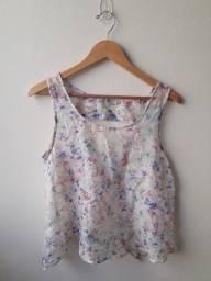 Blusa floral P