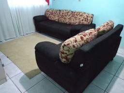 Jogo de sofá usado