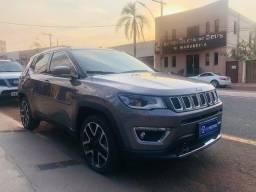 Título do anúncio: Jeep Compass 2.0 Limited Flex 2020- Apenas 10 mil rodados