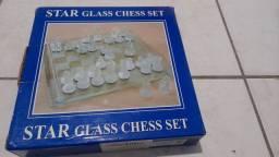 Vendo jogos de damas de vidro