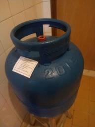 Casco de gás VAZIO ( Leia o anúncio por gentileza )