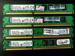 Título do anúncio: Memória Kingston DDR3 4GB 1333MHz