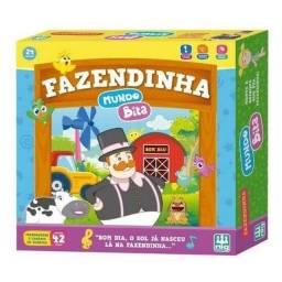 Playset Fazendinha Mundo Bita Com Animais 42 Peças Nig