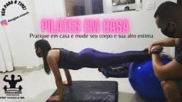 Pilates Solo Em Casa