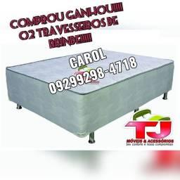 Cama Box Casal Sultão Pelmex @-@%-@&%