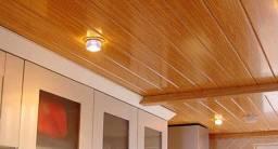 Instalação de piso, divisória e forro