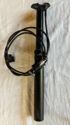 Canote MTB Downhill Rock Shox Reverb 31.6 x 380mm Telescópico Retrátil - USADO.REVISADO<br><br>