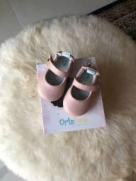 Sapato para bebê menina