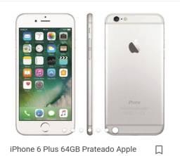 Vendo o iPhone 6 plus 64 Gigas 400 Reais