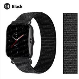 Título do anúncio: Pulseira de Nylon Para Smartwatchs 20mm