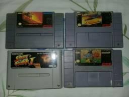 Super Nintendo jogos original