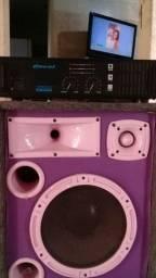 amplificador oneal op 1600 series