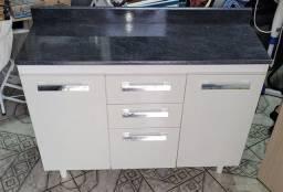 Gabinete de cozinha usado