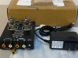 Pré-amplificador valvulado phono vinil lp