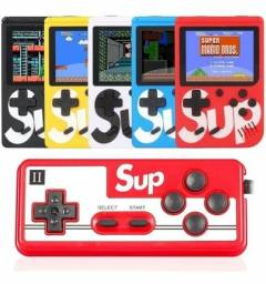 Mini video game portátil game sup retrô 400 em 1