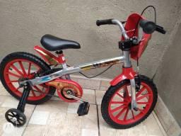Bicicleta aro 16 Bandeirantes Homem de ferro Praticamente Nova